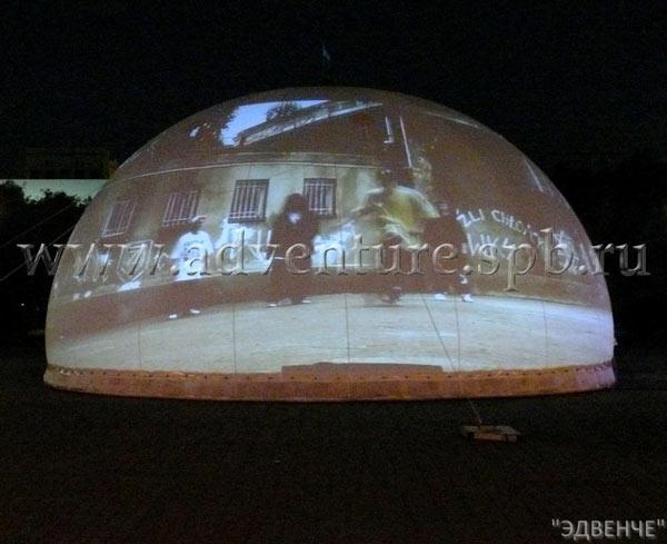 Экран обратной проекции из поликарбоната
